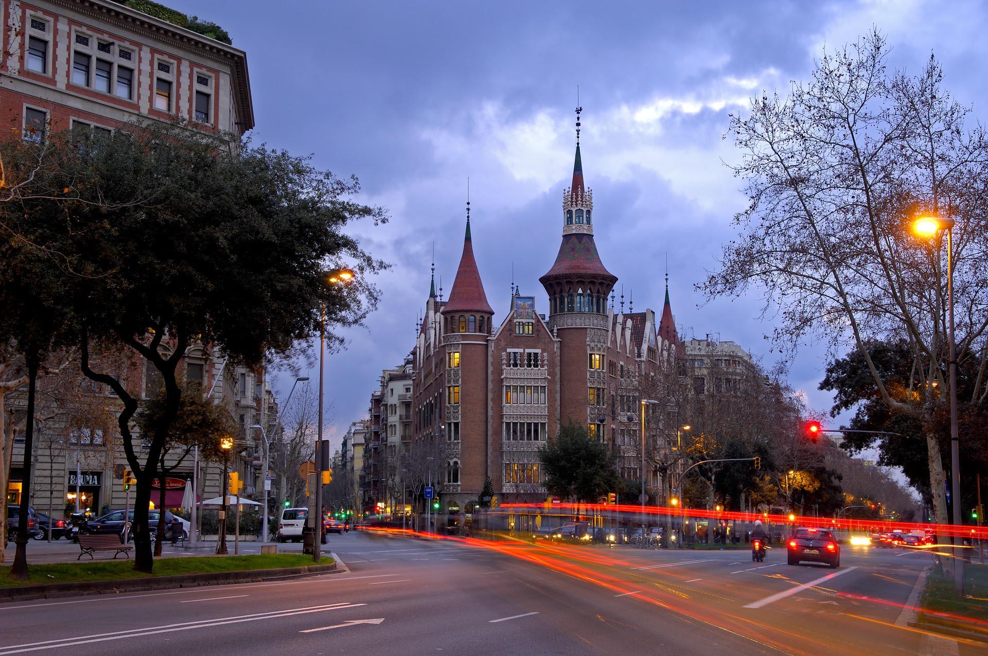 Modernismo en Barcelona
